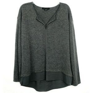 Sanctuary Gray Long Sleeve Light Sweater Blouse